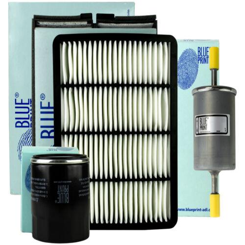 BLUE PRINT FILTER SET KOMPLETT KIA CARENS III 1.6 2.0 CVVT