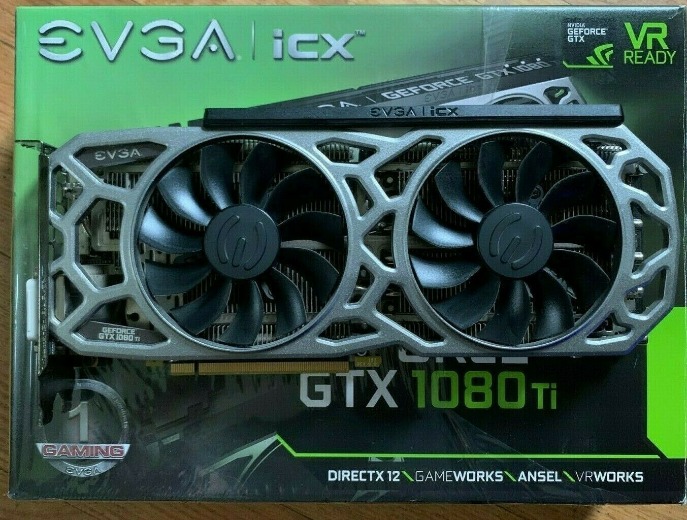 EVGA NVIDIA GeForce GTX 1080 Ti SC2 11GB GDDR5X iCX Technology Graphics Card... 2