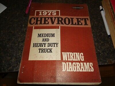 1975 chevrolet truck gmc wiring diagrams factory book from ...