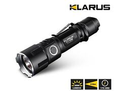 Klarus XT11 GT Tactical Flashlight 2000 Lumen Rechargable - Free UK Delivery