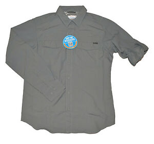 e11979c466c Columbia Kestrel Trail Long Sleeve Omni Shade UPF 50 Men's Shirt ...