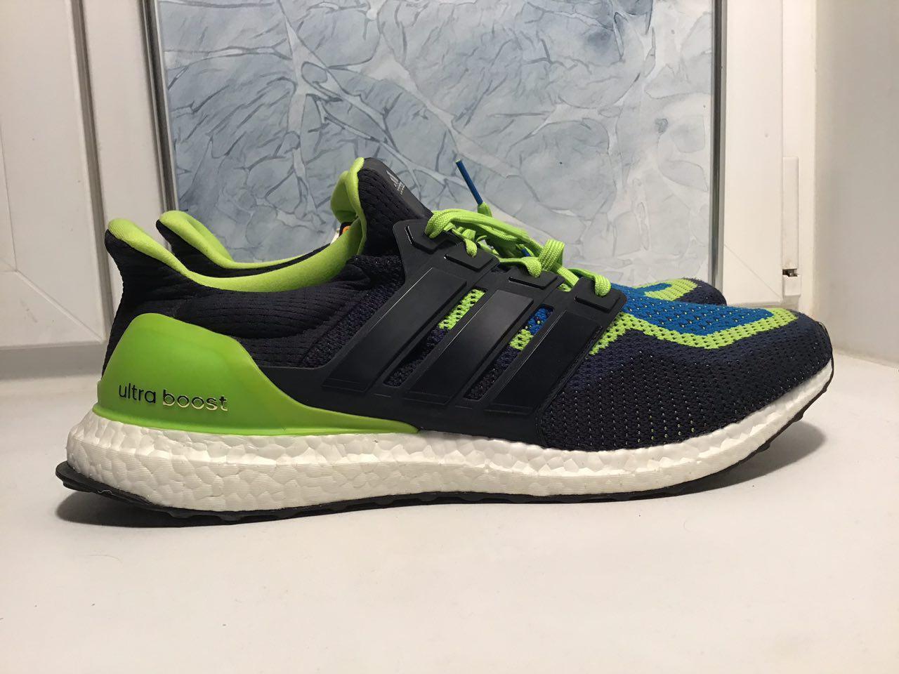 Adidas Perfomance Ultra Boost Nero verde AQ4002