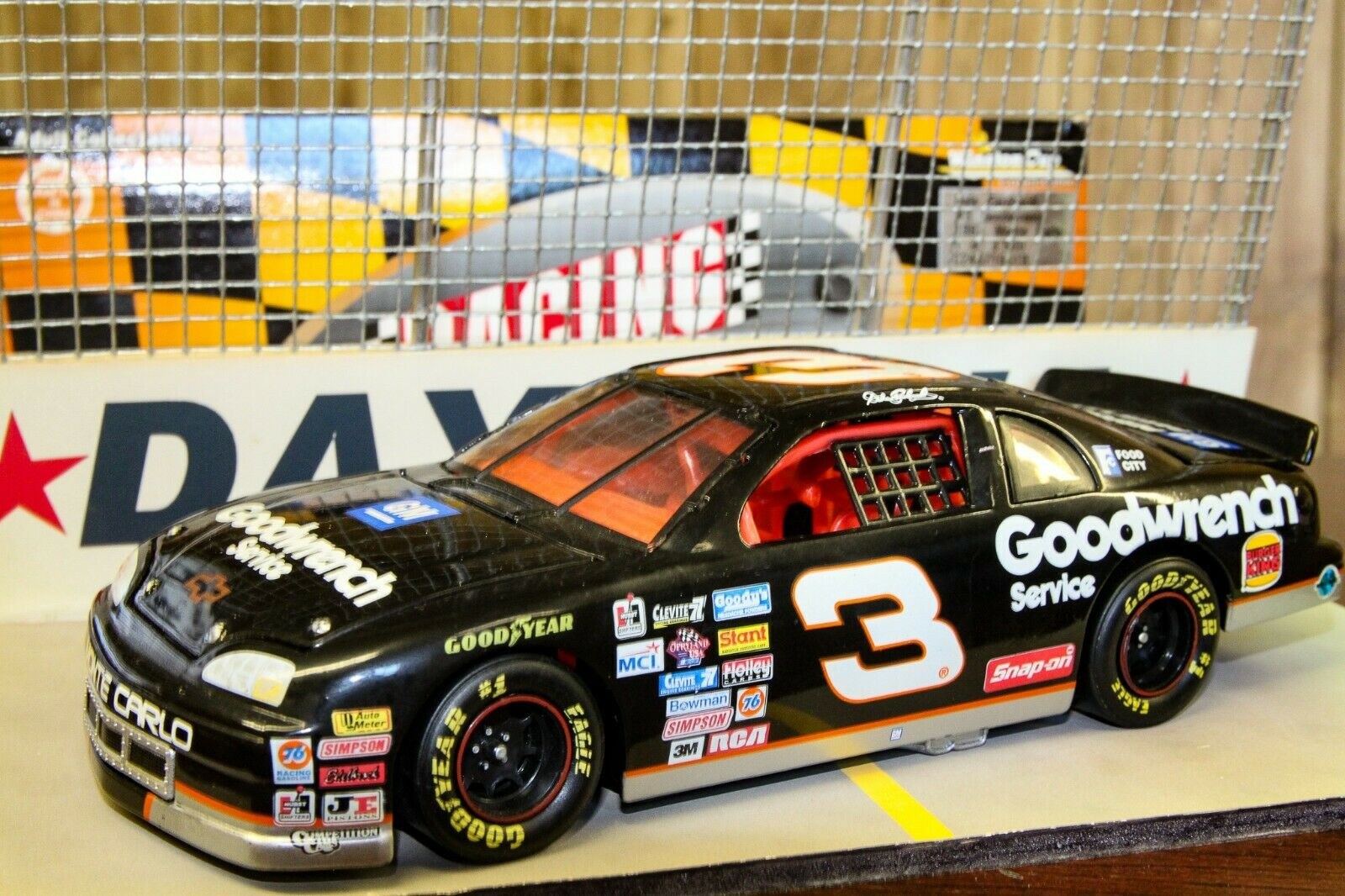 3 DALE EARNHARDT SR 1997 GM GOODWRENCH RCCA CLUB CWC 1 3500 ACTION 1 24