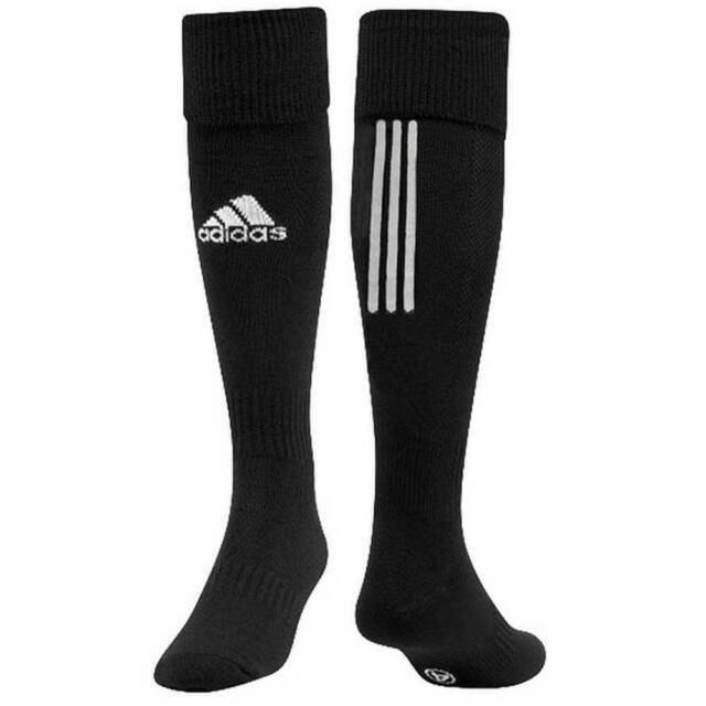 5afb05ca1 Adidas Mens Football Socks Sport Santos 3-Stripes Z56221 Soccer Black New  2018