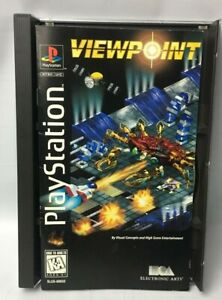 Viewpoint Game Sony PlayStation 1 (1995) Robotic Minions Apocalyptic Destruction