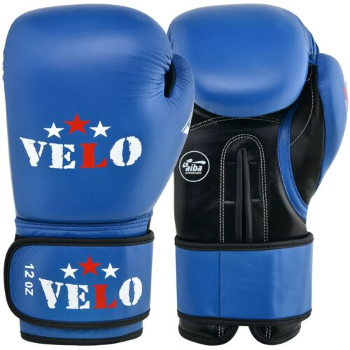 VELO AIBA Boxing Gloves Approved Fight