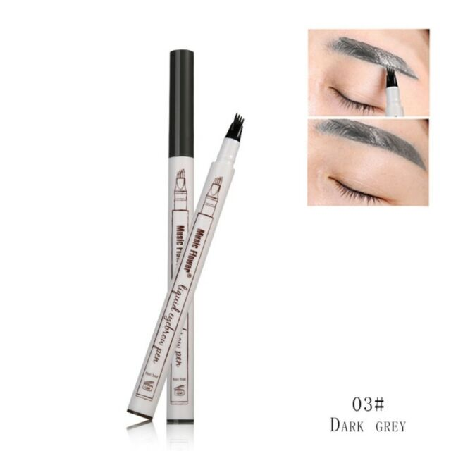3colors Makeup Longlasting Eye Brow Eyeliner Eyebrow Fine Sketch Pen