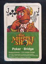 Vintage 1978 Muppet Show Playing Cards Muppets Altenburger Sealed