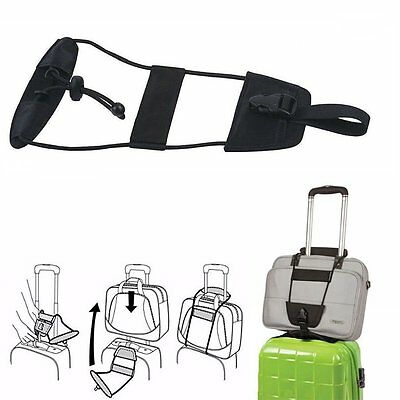 ohuhn Bag Bungee Luggage Add A Bag Strap Travel Suitcase Attachment System us