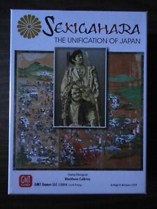Sekigahara-Fourth-Printing-by-GMT-Games-2018-mint-in-shrink
