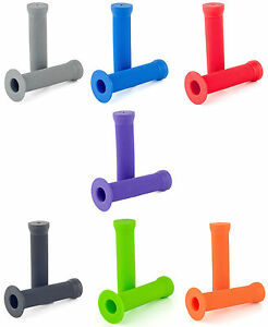 NEW SCOOTER GRIP MULTIPLE COLOURS EXTREME SCOOTERING PARK GRIPS FREE P/&P