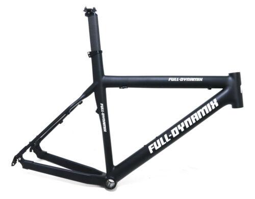 "Full Dynamix 17/"" Swat 26/"" Carbon Fiber Hardtail MTB Bike Frame QR Disc NEW"