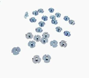 100 Pack 10-24 T-Nuts 5//16 Barrel Zinc Plate 1//4 Hole 3#10C005