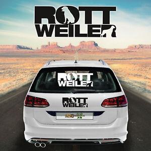 Autocollants Pour Voiture Rottweiler M1 Sticker Chien Car