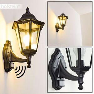 Détails sur Applique murale Lampe de jardin Luminaire extérieur Détecteur  Lampe de terrasse