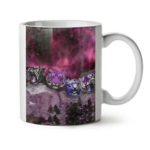Tiger Space Beast NEW White Tea Coffee Mug 11 oz   Wellcoda