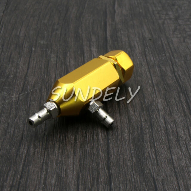 1-30 PSI ANODIZED MANUAL TURBOCHARGER GOLDEN CLOSED-LOOP BOOST CONTROLLER BYPASS