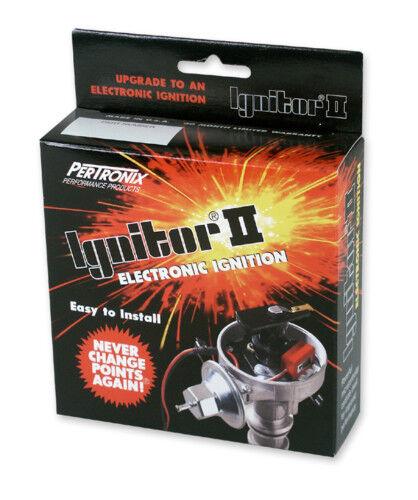 Pertronix 91361A Ignitor II /& Coil for Mopar 6 Cyl Distributor 198 225 Slant Six