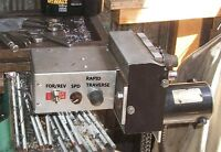 Verticle/horizontal Mill Power Table Feed -- How I Built Mine
