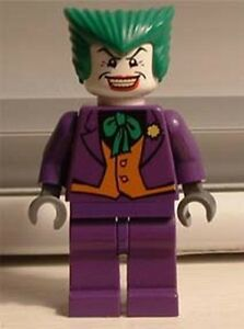 dim017 Blue Vest LEGO NEW Minifig The Joker including GUN from 71229 or