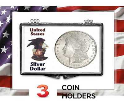 Intercept Shield USA Coin Album Eisenhower Dollars 1971-1978 Slipcase Free