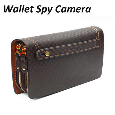 HAND HELD SPY CAMERA DVR in WALLET BAG RECORD FULL HD 1080p VIDEO/SOUND RECORDER