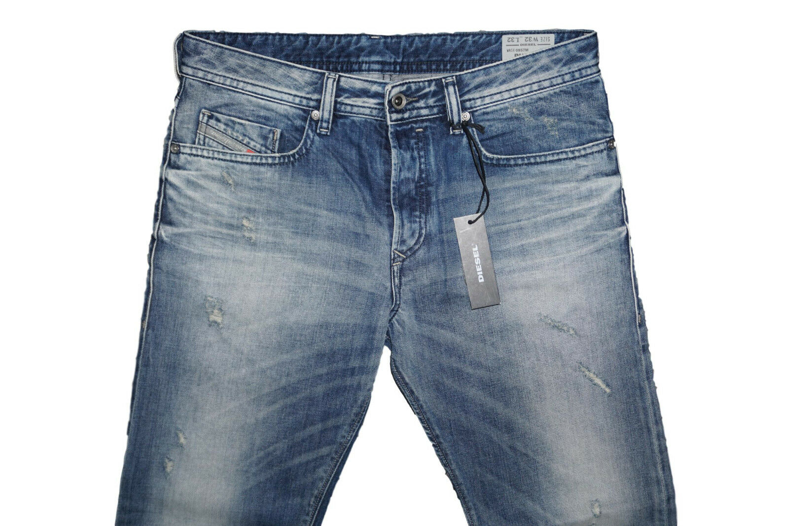 DIESEL BUSTER 0857M SLIM TAPErot JEANS W32 L32 100% AUTHENTIC