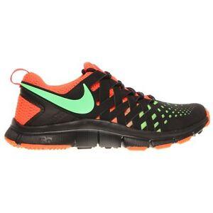 Nike Free Trainer 5.0 NRG Mens Shoe size 10 579813-003 Black/Green/Crimson
