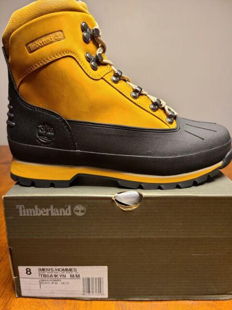 timberland euro hiker shell toe jacquard