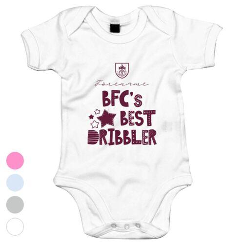Personalised Bodysuit BEST DRIBBLER Burnley F.C