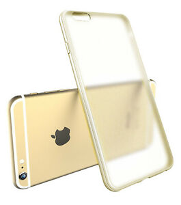 iPhone-6S-6-case-Bumper-Case-Cover-Protective-Crystal-Clear-Hard-White