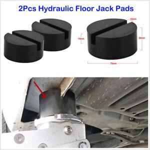 ASCENT-Slotted-Frame-Rail-Floor-Rubber-Jack-Disk-Pad-Fit-Pinch-Weld-Side-JACKPAD