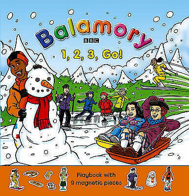 One, Two, Three, Go!: Magnet Book (Balamory), Various , Acceptable, FAST Deliver