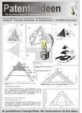 Pyramide u.a. Orgon Energie Tachyonen Patente 2900 S