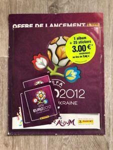 Panini-Euro-2012-Album-Vide-Empty-Et-Neuf-Mint-Blister