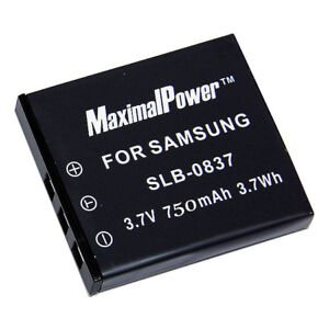 Non-OEM-Battery-For-SAMSUNG-SLB-0837-DIGIMAX-I6-L50-L60-L700-L73-NV3-NV7