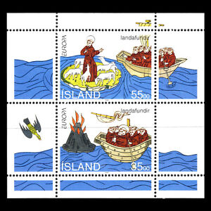 Iceland-1994-EUROPA-Stamps-034-Great-Discoveries-034-s-s-Sc-781a-MNH