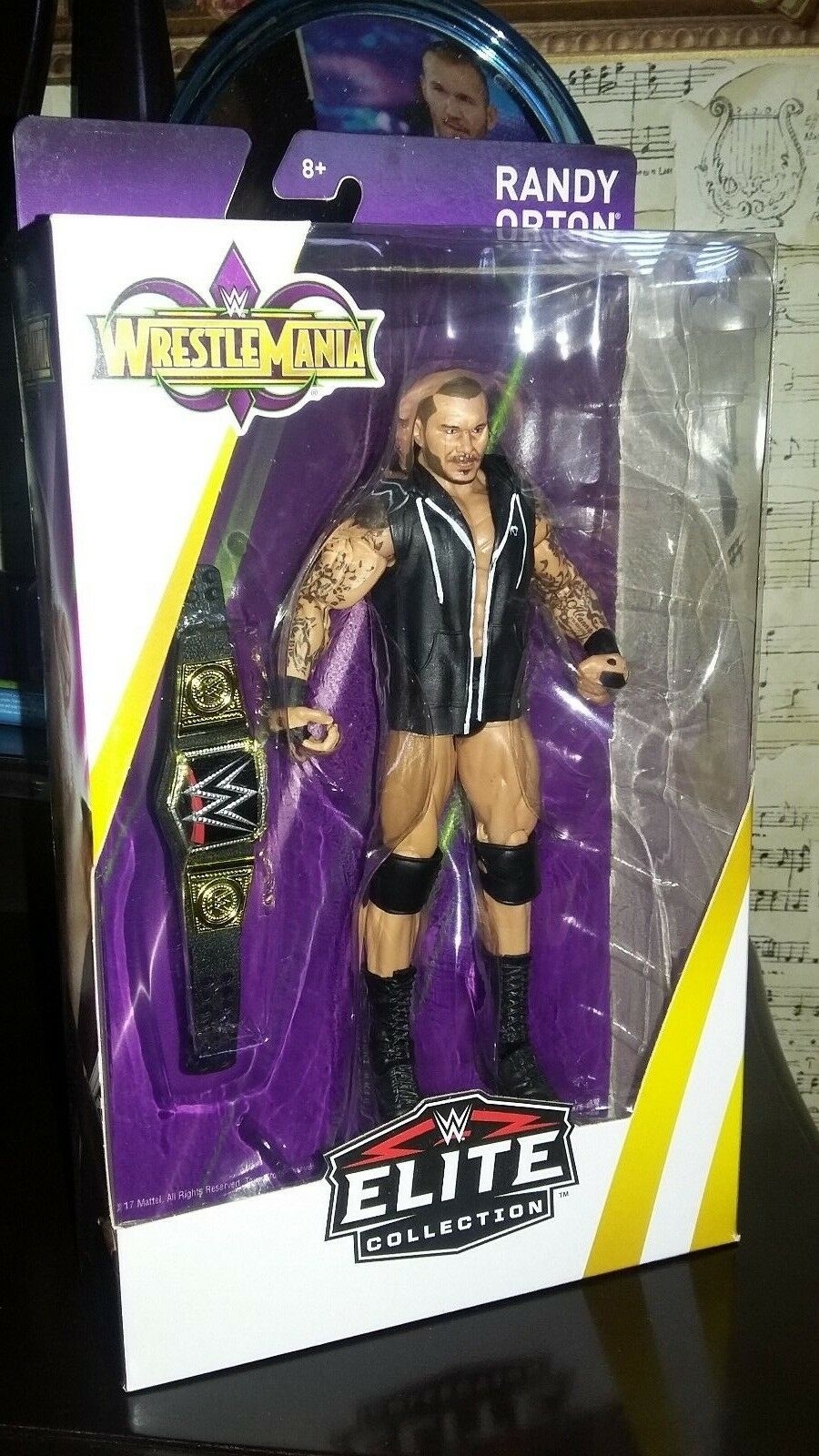New Sealed WWE Elite Collection Series 55 Figure Randy Orton
