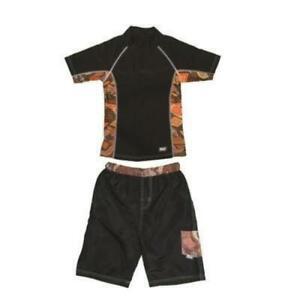 Boys-UV-Swimwear-Short-Sleeve-Rashguard-Set