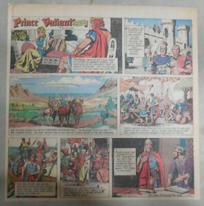 Prince-Valiant-Sunday-by-Hal-Foster-from-7-18-1971-2-3-Full-Page-Size