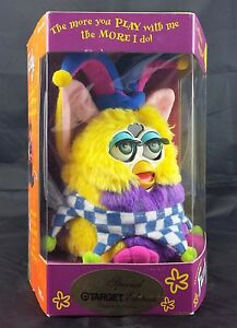 itm Jester Furby NEW IN BOX  Tiger Electronics Green Eyes Target Exc