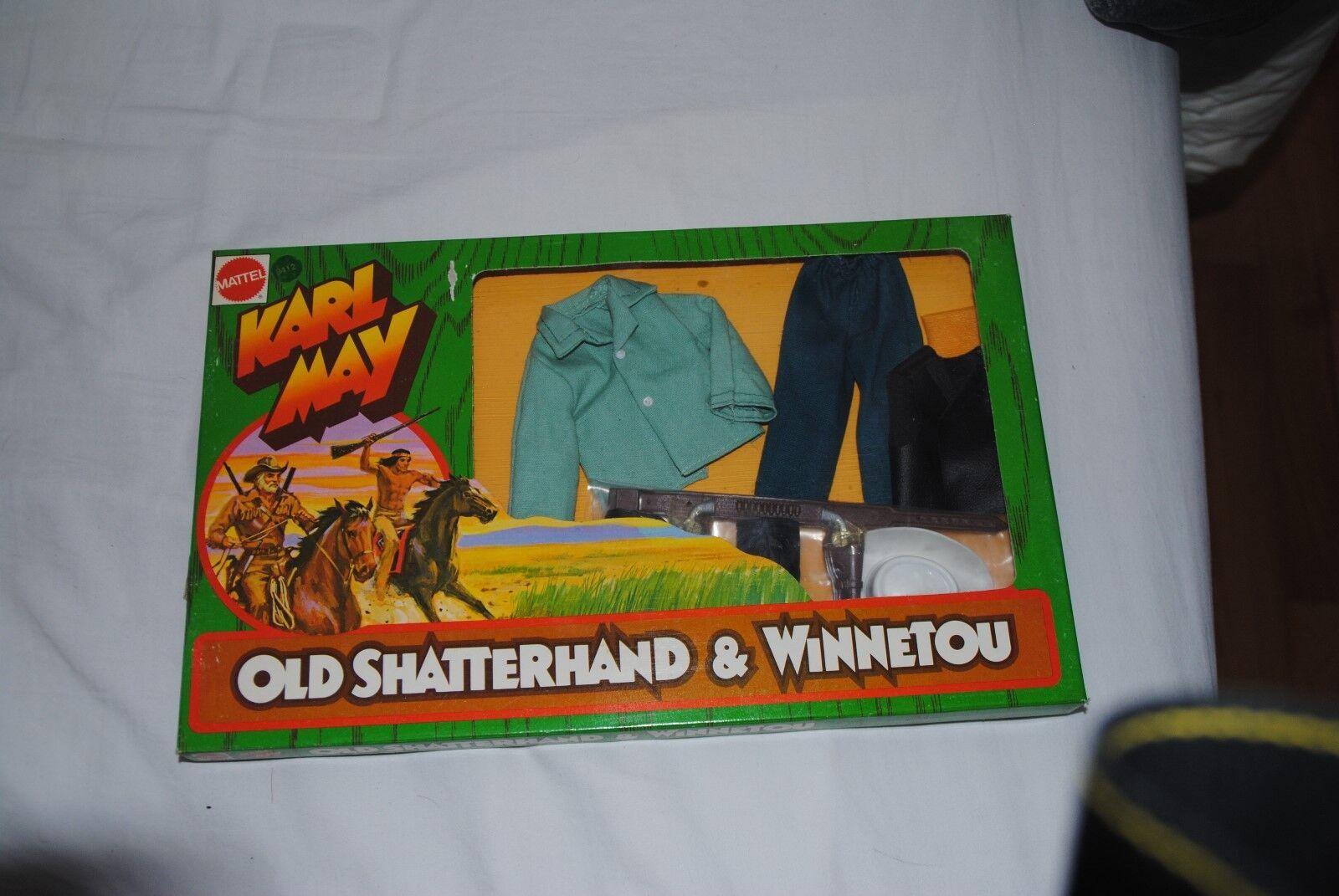 BIG JIM KARL MAY      TEXAS RANGER      9412          BOXED    SET