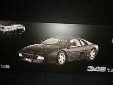 Hot Wheels Elite Ferrari 348 ts Black 1/18 Limited Edition