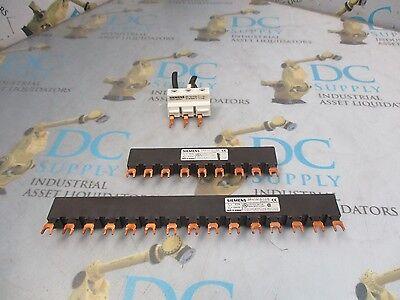 NEW SIEMENS 3-Phase Busbar 3RV1915-2CB NIB