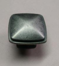 "Cabinet Hardware Economy Rope Knobs kzu18 Black Antique 1-1//4/"" Round Mushroom"