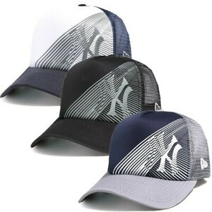 Oakley-Men-039-s-New-York-Yankees-New-Era-9FORTY-MLB-Baseball-Trucker-Hat-Cap