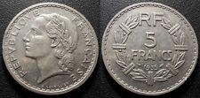 IIIème République - 5 francs Lavrillier 1935 - F.336/4