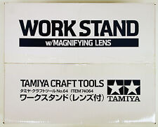 Tamiya Work Stand Station With Magnifying Lens # 74064