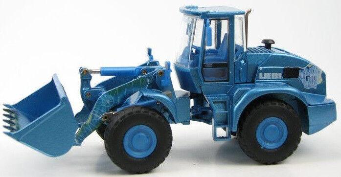 CON2435 01 - Chargeur LIEBHERR L538 Bleu - Edition Spéciale - 1 50