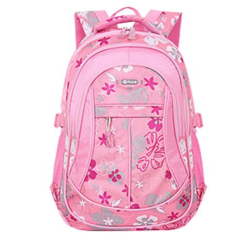 Mode Schüler Rucksack Schultaschen Blume Schultern Taschen Für Mädchen Jungen